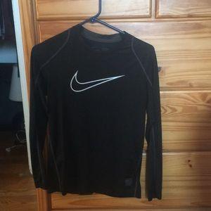 Black Nike Pro long sleeve